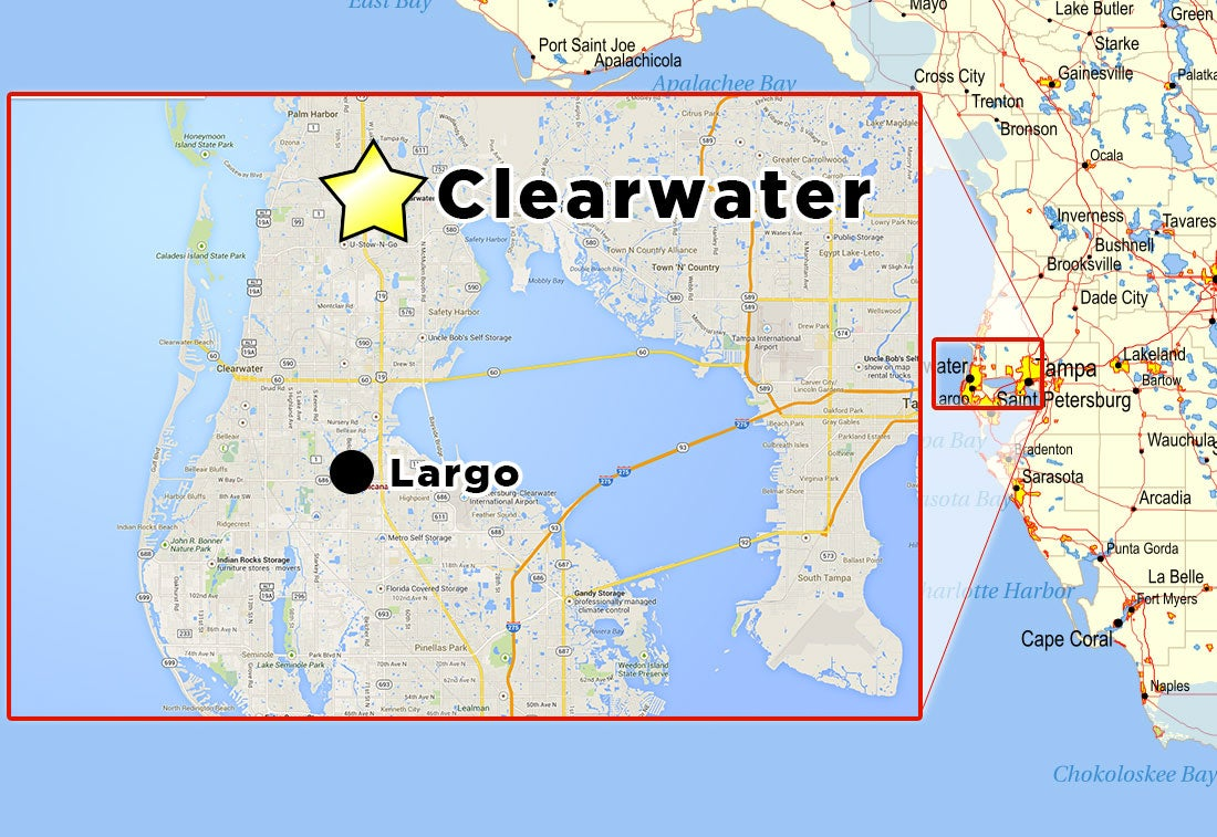 Two convenient locations in Florida